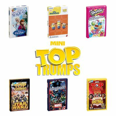 Top Trumps Mini Card Games - New 2017 - Choose your favourite!