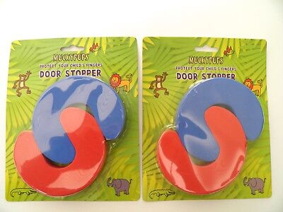 4 Finger Protectors Door Jammer Stoppers Baby Toddler Child Home Safety Proofing