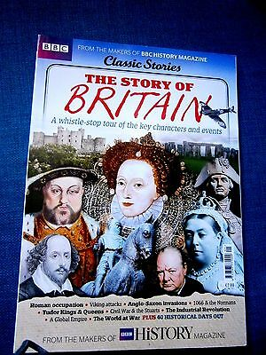 BBC Classic Stories: The Story Of Britain Bookazine (new)