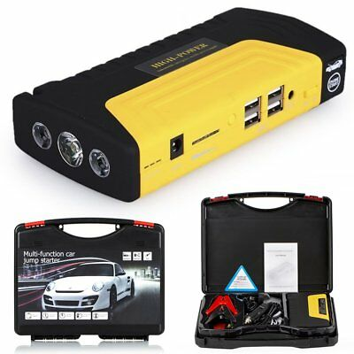 68800mAh Car Emergency Jump Starters Booster Charger Battery USB Power Bank LED