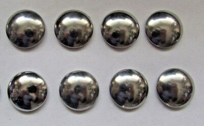 EIGHT Starlock Dome Caps for axles wheels on toys trikes mowers rocking horse