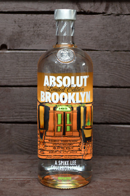 NEW Absolut Vodka Brooklyn 1000ml full & sealed