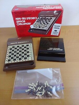 Vintage Fidelity Electronics Complete Chess Challenger Game Computer