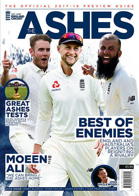 Ashes Preview Guide 2017/2018