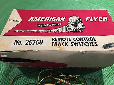 American Flyer Train Remote Left and Right Switch with Controller - Estate Sale