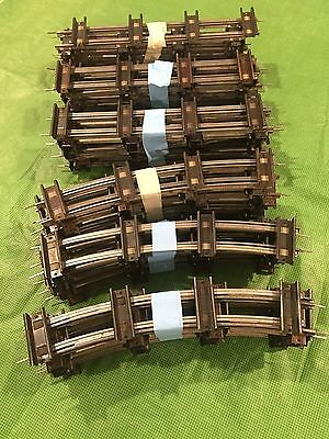 American Flyer Train Track, Curved and Straight 60 pcs. - Estate Sale