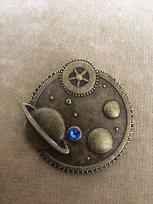 STEAMPUNK SPACE (Meridian Blue) BADGE
