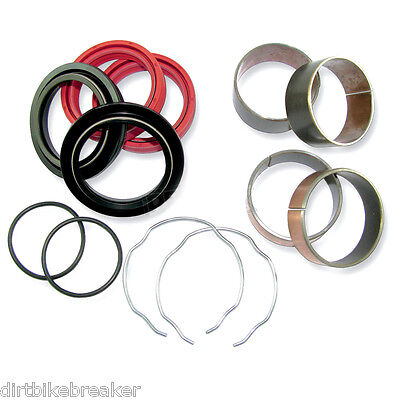 Honda CRF 250 450 X (2004-2014) 47mm Front Fork Bush & Seal Service Kit