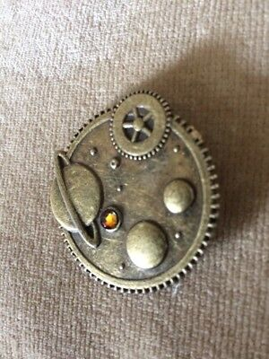 STEAMPUNK SPACE (Volcanic) BADGE