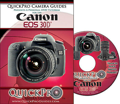 Canon 30D DVD Instructional Guide NEW
