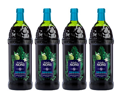 TAHITIAN NONI ® Juice - Original By Morinda - *Brand New 4 Bottle Case*