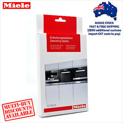 miele coffee machine descaling tablets