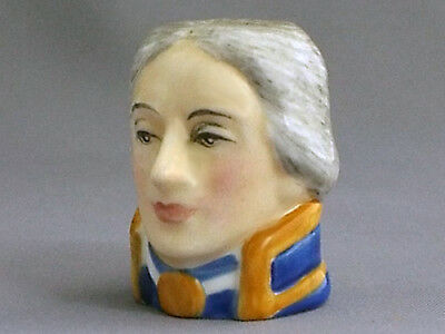 Francesca Character Head Thimble - Lord Nelson, Famous Collection (ii)