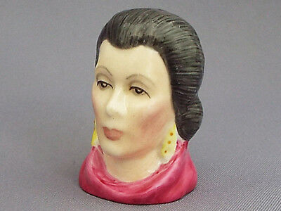Francesca Character Head Thimble - Lady Macbeth, Literary Collection