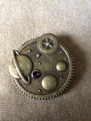 STEAMPUNK SPACE (Purple) BADGE