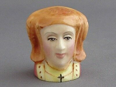 Francesca Character Head Thimble - Anne of Cleves, Tudor Collection