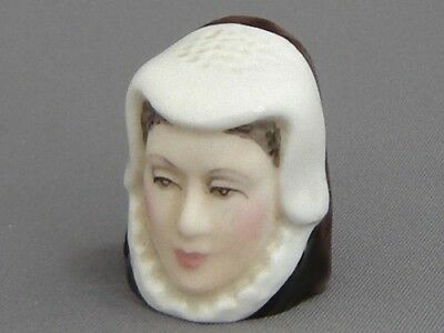 Francesca Character Head Thimble - Anne Hathaway, Literary Collection