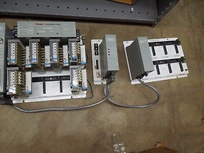 Funas 96 Programmable Controller System w/ 3 Input & 3 Output Modules Processor