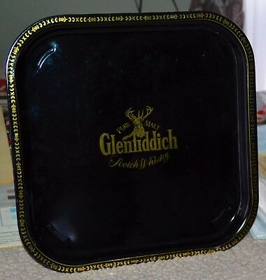 VTG Glenfiddich Pure Malt Scotch Whiskey Tray