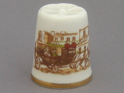 Caverswall Thimble - Open Carriage