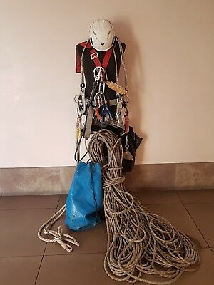 Tower Climbing Kit Arborist Tree Camp Climb Grillon Shockwave Static Rope & More