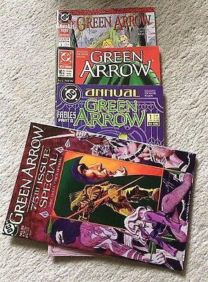 Green Arrow - Annual Bundle + 75th Issue Special - DC - 1988, 1989, 1990, 1993