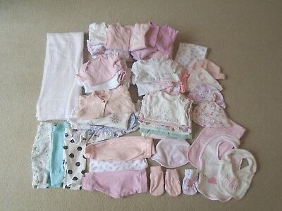 Huge bundle of baby girls clothes, first size & 0-3months Next, Ted Baker, M&S +