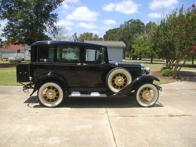 1931 Ford Model A  1931 Model A Ford Slant Windshield Four Door