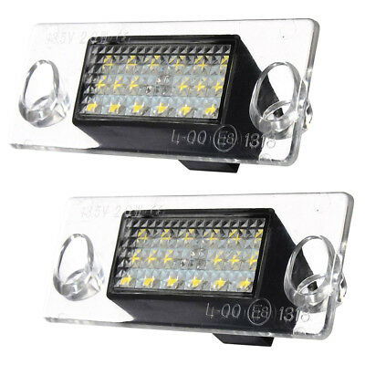 PF 2x license plate light Error 18 LED SMD license plate light for Audi A4 S4 B5