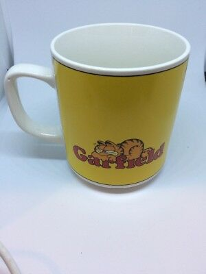 Garfield Mug Vintage 1978 Never Trust A Smiling Cat Jim Davis Coffee Cup
