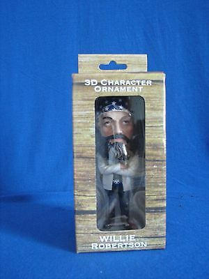 "Christmas Ornament Duck Dynasty Willie Robertson 3"" Tall Collectible"
