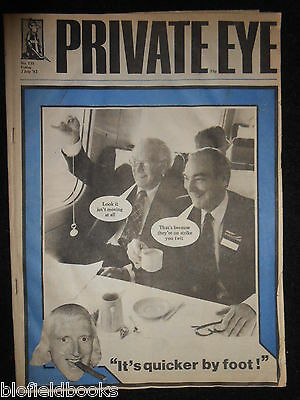 PRIVATE EYE - Vintage Satirical Political News Humour Magazine - 2nd July 1982
