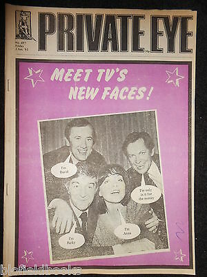 PRIVATE EYE - Vintage Satirical Political Humour Magazine - 2nd January 1981