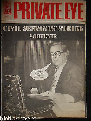 PRIVATE EYE - Vintage Satirical Political News Humour Magazine - 13th March 1981