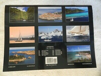 Lot of 11 Excellent 1986 to 2016 SEVEN 7 SEAS SAIL BOAT CALENDAR by FERENC MATE