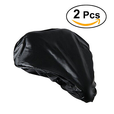 Bicycle Seat Cover New Waterproof Saddle Bike Rain Cover Dust Resistant in Black