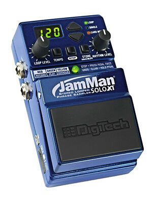 Digitech JamMan Solo XT Looper-Phrase Sampling Pedal (NEW)