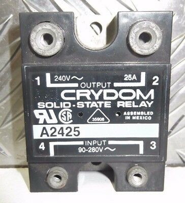 Crydom A2425 Solid State Relay Panel Mount  25A 240V M24