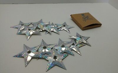 Avon Discontinued Christmas Star Reflecting Light Covers Set of 12