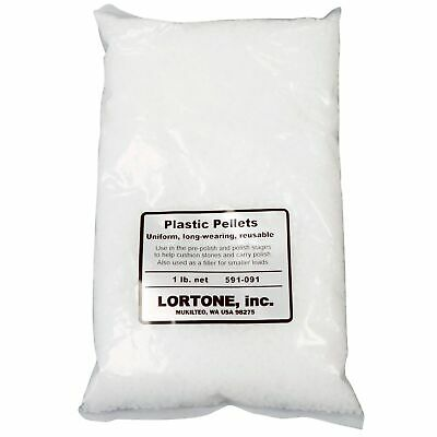 Lortone 1 lb. Plastic Pellets Rock Tumbling Media Filler Cushion 591-091