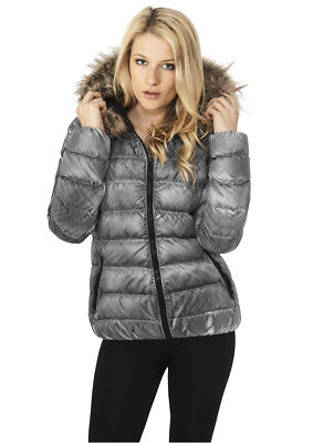 Ladies Spray Dye Winter Jacket Urban Classics Streetwear Giacca Invernale Donna