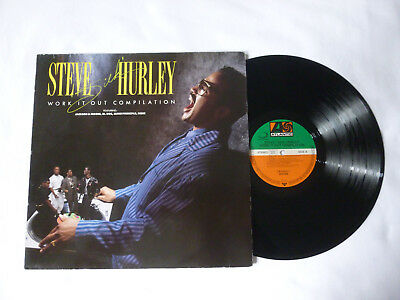 Steve 'silk' Hurley ~ Work It Out Compilation ~ 1989 Vinyl Lp ~ Plays Well