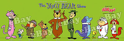 EXTRA LARGE YOGI BEAR SHOW Panoramic Photo Print HANNA BARBERA