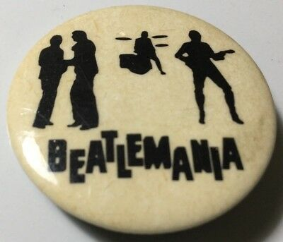 Beatles - Beatlemania pin back button