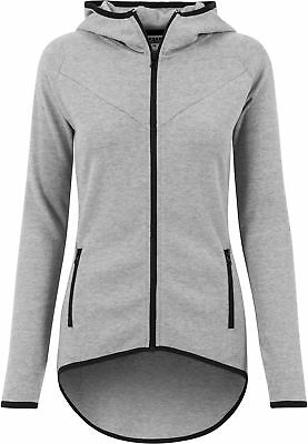 Ladies Athletic Interlock Zip Hoody Urban Classics Streetwear Hoodies Felpa