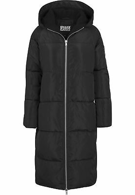 Urban Classics Ladies Oversized Hooded Puffer Coat Streetwear Giacca Invernale