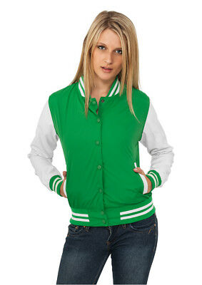 Ladies Light College Jacket Urban Classics Streetwear Giacca Donna