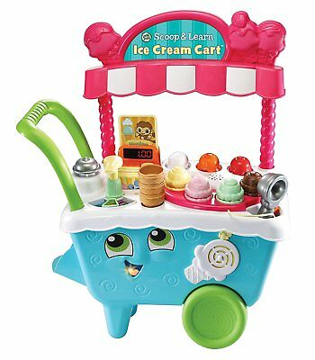 LeapFrog Scoop & Learn Ice Cream Cart * Leap Frog Iced Cream Stand * BRAND NEW