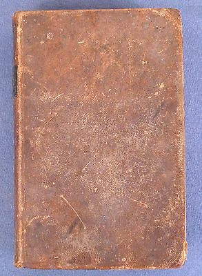 1843 Leather Bound Bible, American Bible Society, New York