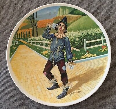 1977 Knowles If I Only Had A Brain Mgm Wizard Of Oz Limited Edition Plate Nwb